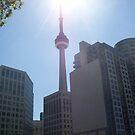 Toronto Canada's CN Tower by Glenn Esau