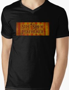Side Show Performer Mens V-Neck T-Shirt
