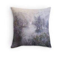 Drizzle....「sigure」 Throw Pillow