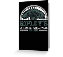 Ripley's Extermination Services Greeting Card