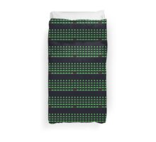 Space Invaders pattern Duvet Cover