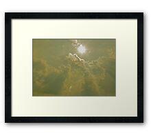 shining heaven's light Framed Print