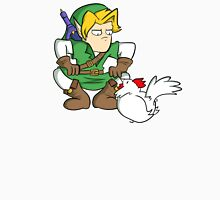 Link: Hero of Chickens Unisex T-Shirt