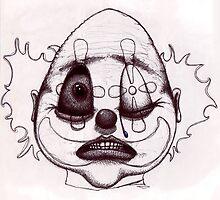 M Blackwell - Biro Clown... by IWML