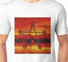 Pentegram by Pierre Blanchard Unisex T-Shirt