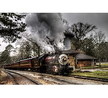 The Texas State Railroad Photographic Print