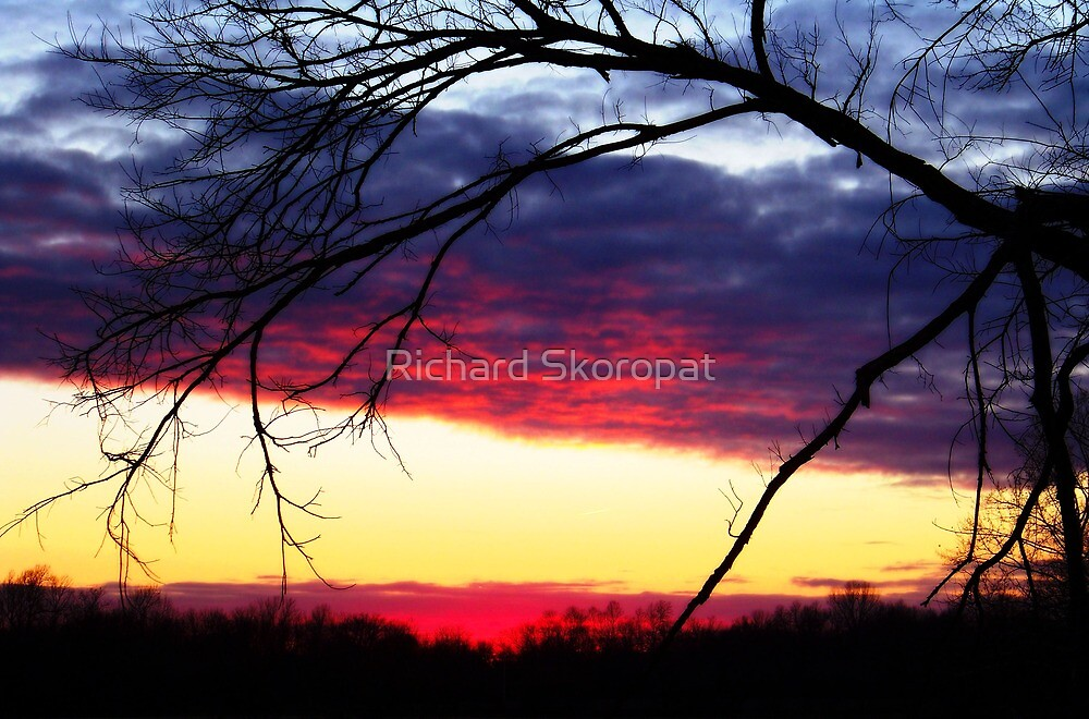 Sunset In December by Richard Skoropat