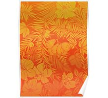 Luxuriant Orange Poster