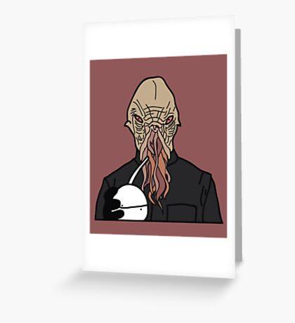 oOd Greeting Card