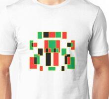 red, green, yellow & black Unisex T-Shirt