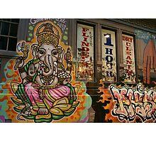 Happy Ganesh Photographic Print