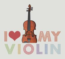 I Love My Violin by evisionarts