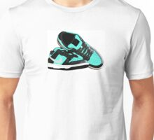 Tiffany Dunk Sneaker Illustration Unisex T-Shirt
