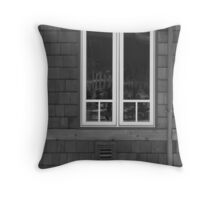 Haunted?? Throw Pillow
