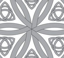 Celtic Pattern: Simple Star Sticker