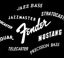 Fender Guitars by andippo