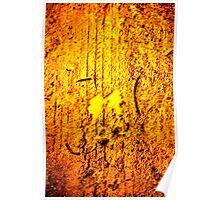 Molten Gold Poster