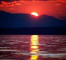 Classic Sunset by Olga Zvereva