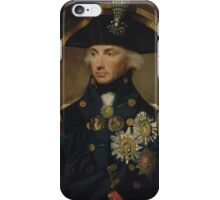 Admiral Horatio Nelson iPhone Case/Skin