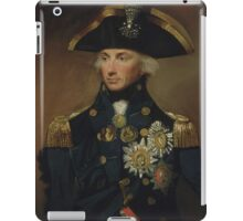 Admiral Horatio Nelson iPad Case/Skin
