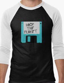 Hack The Planet Men's Baseball ¾ T-Shirt