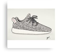 Yeezy Boost 360 Illustration Canvas Print