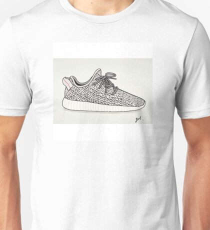 Yeezy Boost 360 Illustration Unisex T-Shirt