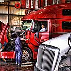 """Kinda Hard To Make Any Money If Your Truck Won't Roll"" by Melinda Stewart Page"