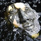 Zen Meditation in The Water Buddha Face by Kater