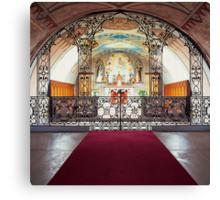 Italian Chapel, Interior Canvas Print