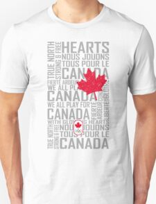 We All Play for Canada (White) T-Shirt