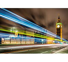 THE FLASH - LONDON Photographic Print