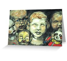 dolls smile Greeting Card