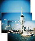 Spinnaker Tower montage by redcow