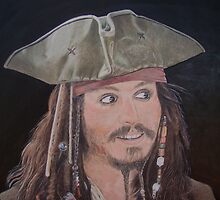 Johnny Depp as Jack. by Gary Fernandez