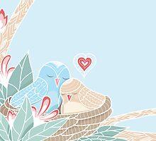 Love Birds by oksancia