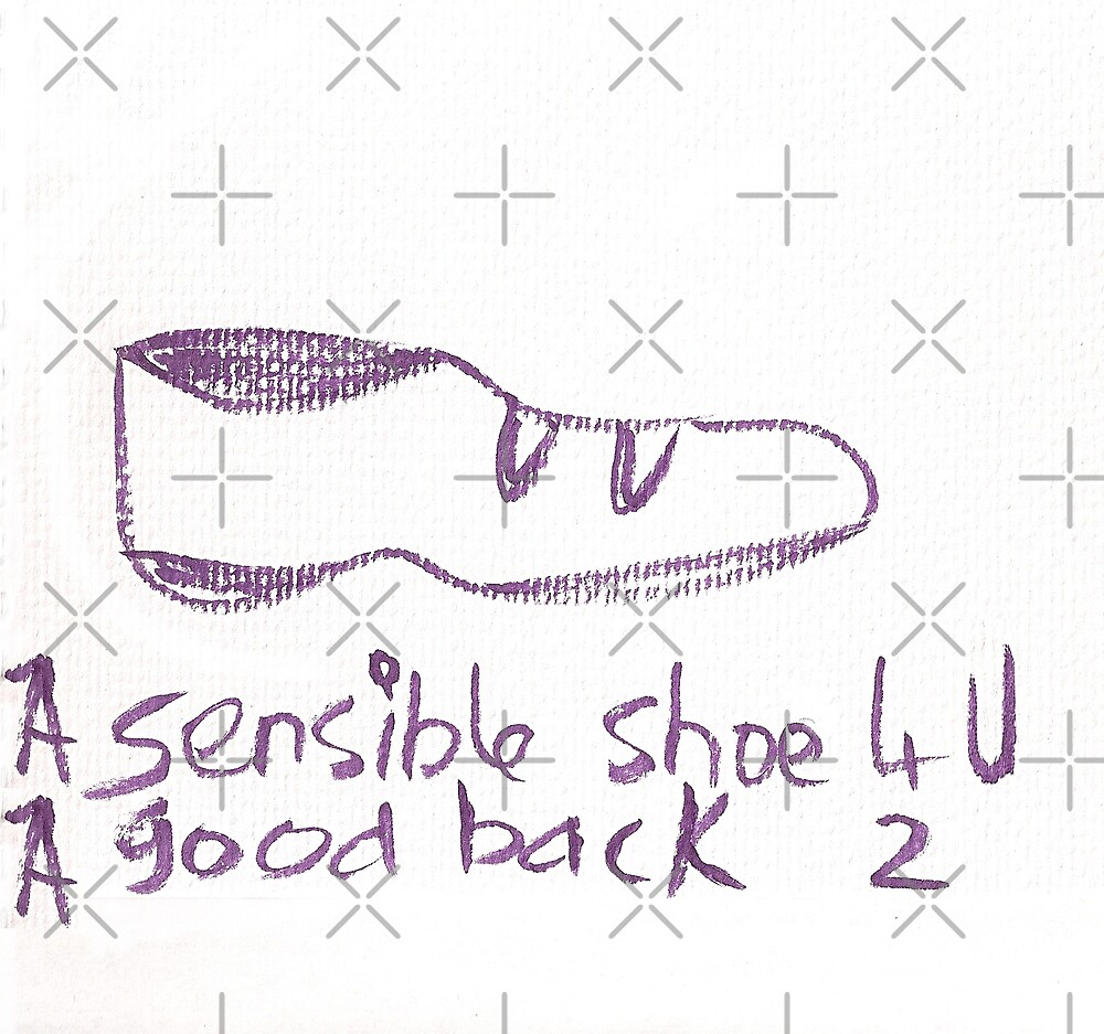 A sensible shoe for you. by KazM