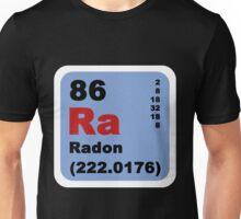 Periodic Table of Elements: No. 86 Radon Unisex T-Shirt