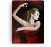 """The last dance..."" detail Canvas Print"