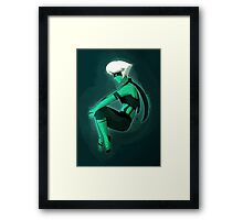 I'm Malachite Now Framed Print