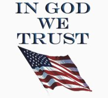 America, Official motto, In God we trust, USA, American, Americana, Kids Clothes