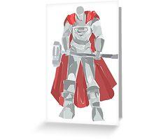 Steel Greeting Card