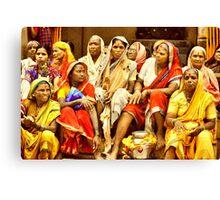 Waari - The colors of India Canvas Print