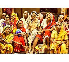 Waari - The colors of India Photographic Print