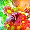 *Frame full of colour - Gorgeous Flower Cards*