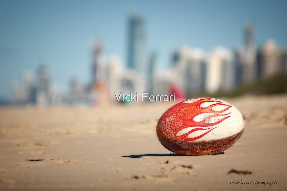 Gold Coast Genuine Dragon Egg - Surfers Beach Football © Vicki Ferrari Photography by Vicki Ferrari