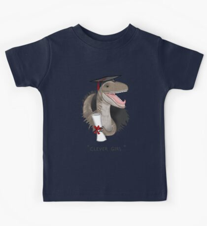 """""""Clever Girl"""" Kids Tee"""