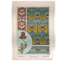 Plante et Ses Applications Ornementales Ornamental Plants Grasset Eugene Maurice Pillard Verneuil 1896 Art Nouveau 0039 Crown Imperial Poster