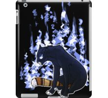 In Azure Flame iPad Case/Skin