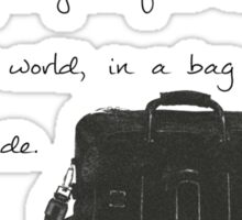 Bag By Your Side Sticker